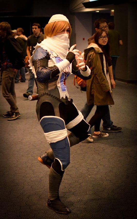 Sheik cosplay