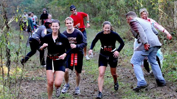 I want to do this!  'Run For Your Lives': 5K puts racers in the middle of a zombie apocalypse