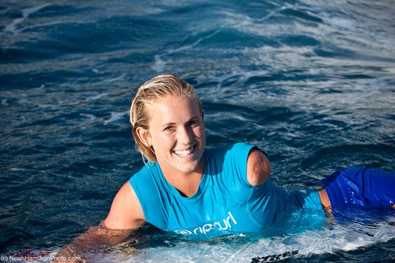 Bethany Hamilton is a true soul surfer. Being attacked by ...
