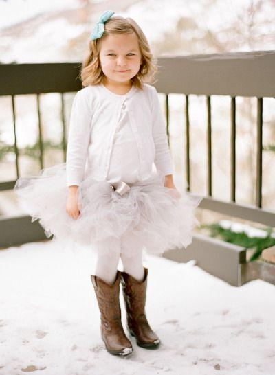 Winter Southwestern flowergirl: http://www.stylemepretty.com/colorado-weddings/avon-co/2014/10/01/beaver-creek-ski-resort-wedding/ | Photography: Mi Amore Foto - http://miamorefoto.com/