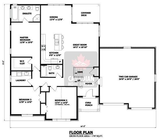 Small house floor plans hillside house plans small Hillside garage plans
