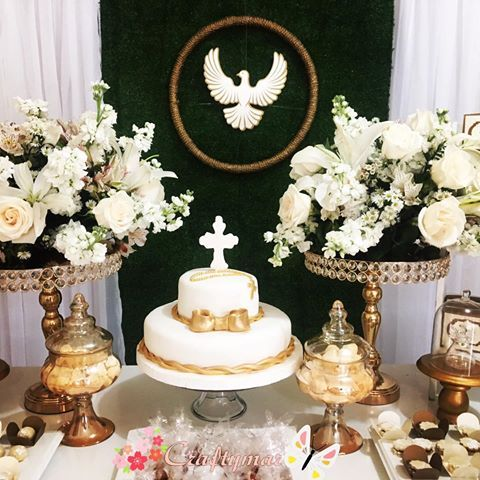 Resultado De Imagen Para Decoracion Para Confirmacion Catolica Adornos Para Confirmacion Primera Comunion Decoracion Decoración De Unas