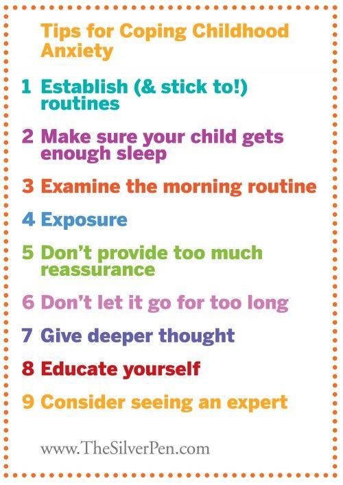 Coping with childhood anxiety Tipps, die helfen, mit Ängsten von Kindern umzugehen. #angstmanagement #anxiety