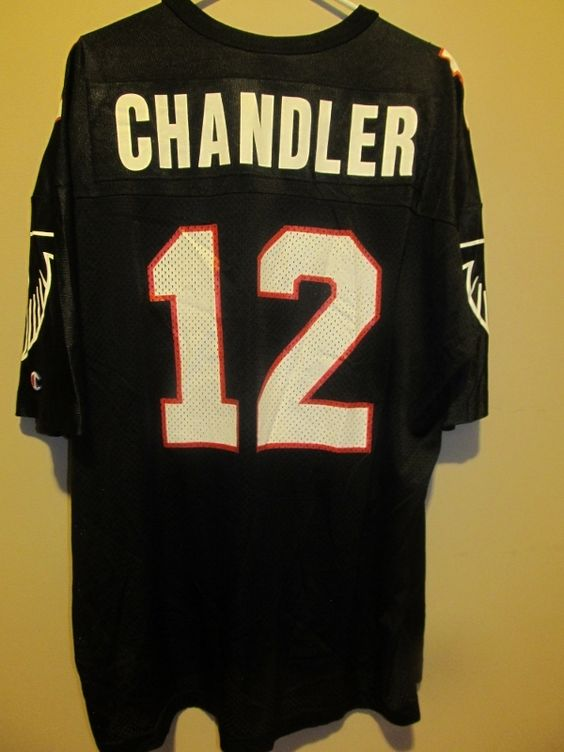 Jerseys NFL Outlet - Vintage Chris Chandler Atlanta Falcons jersey , Size 52 - Football ...