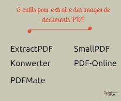 Blog Optim Office - Astuce du jour :  5 outils pour extraire des images de documents PDF