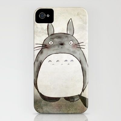 Totoro+and+friends+iPhone+Case+by+Munieca+-+$35.00: Cool Iphone Cases, 35 Iphone, Movie, Totoro Iphone, Friends Iphone, Phone Cover