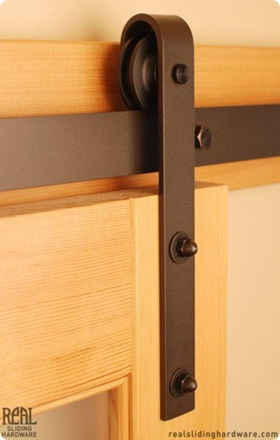 Inexpensive Sliding Barn Door Hardware | Remodeling | Pinterest