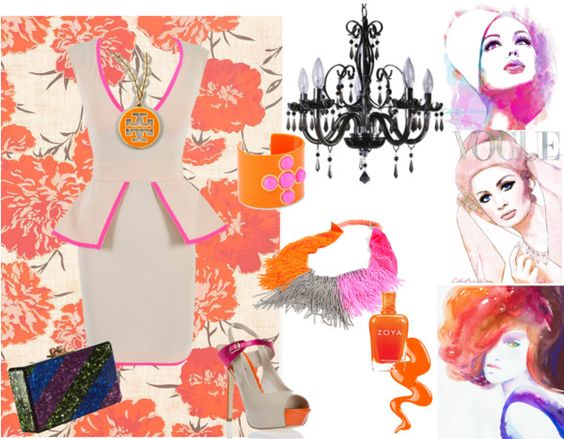 """Vintage Kaleidoscope"" by rhinestonesandrouge on Polyvore"