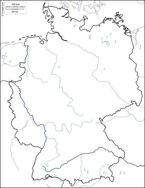 Deutschland Kostenlose Karten Kostenlose Stumme Karte