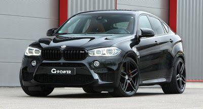 G-Power wirft einen Schlag bei BMW X6 M mit 3-stufiger Leistungssteigerung BMW BMW X6 MG-Power Tuning
