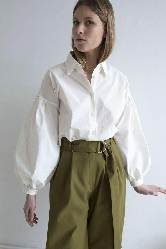 Модная рубашка- вещь, которая выдает хороший вкус   ladyline.me   Яндекс Дзен