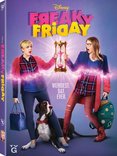 Freaky Friday A New Musical On Disney Dvd September 25th Sexta Feira Muito Louca Filhas Adolescentes Filmes