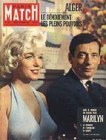 """Paris Match"", February 1960 ( Yves Montand)"