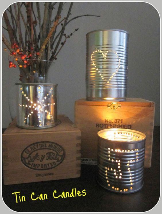 tin candle ideas!!