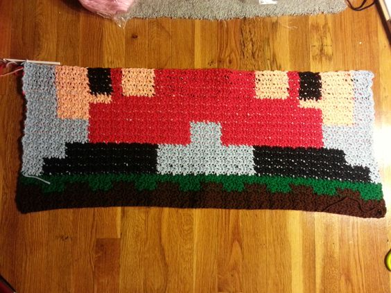 Art, Patterns and Mario on Pinterest