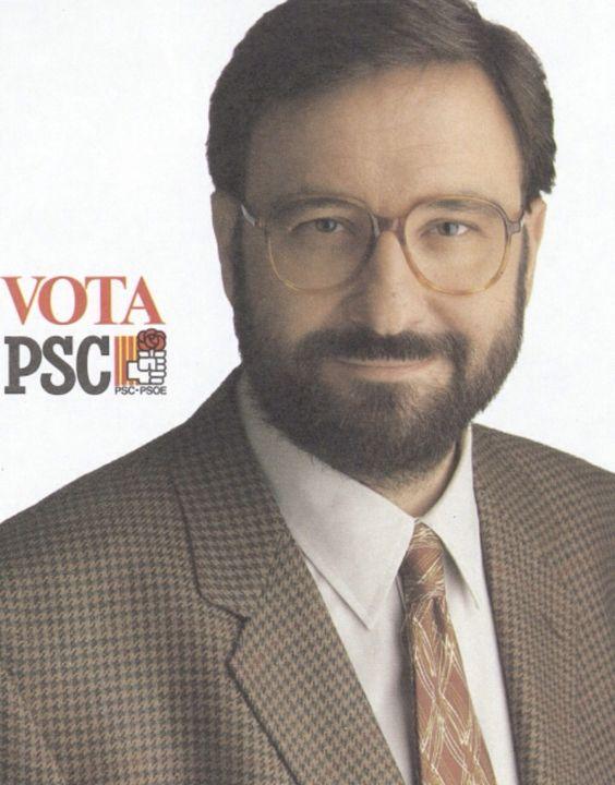 Narcís Serra (Barcelona 1943). Alcalde de Barcelona (1979-82). Ministro de Defensa (1982-91) y Vicepresidente de España (1991-95).