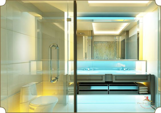 #InteriorDesign #Interiors #Home #Luxury #Artistry #Bathroom #Design #Bathtub #Art #Blue #Yellow