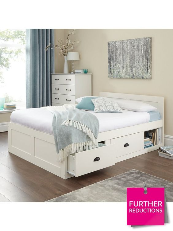 Very Womens Mens And Kids Fashion Furniture Electricals More Bed Frame With Storage Bed Frame With Mattress Wooden Bed With Storage
