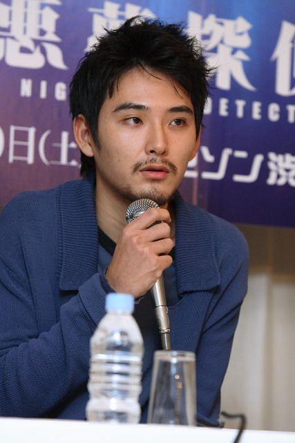 松田龍平のマイク