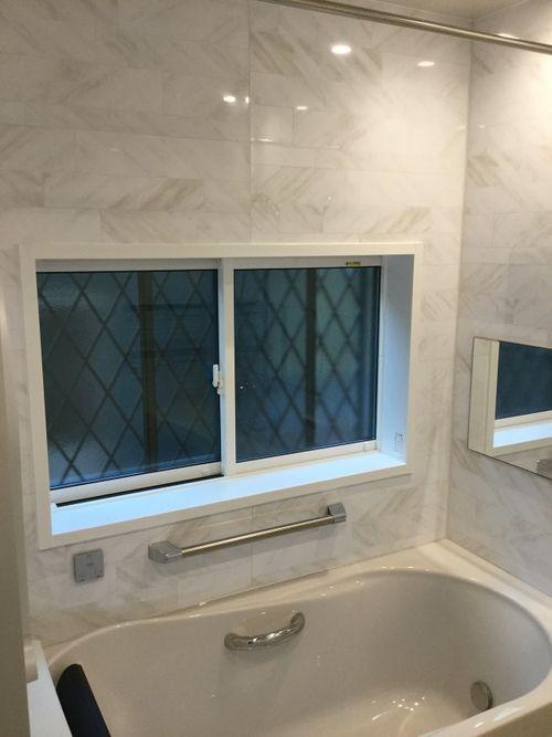 浴室リフォームには窓の断熱改修も必須です 孫と楽しいバスタイム 有限会社獅子倉工務店 浴室リフォーム ユニットバス バス
