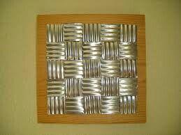 DIY Tin can wall hanging, eady