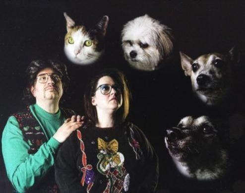 Scary, awkward family photos