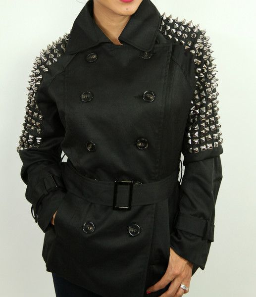 Black Tamara Trench Coat