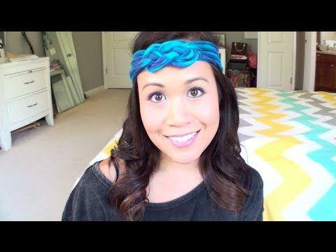 DIY T-Shirt Headband | No Sew | Sailor Knot So very cool and so easy!!