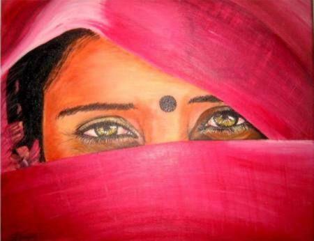 Resultados de la Búsqueda de imágenes de Google de http://enpositivo.com/wp-content/uploads/2012/04/pintura-mujer-india-mujeres-en-la-india-india.jpg