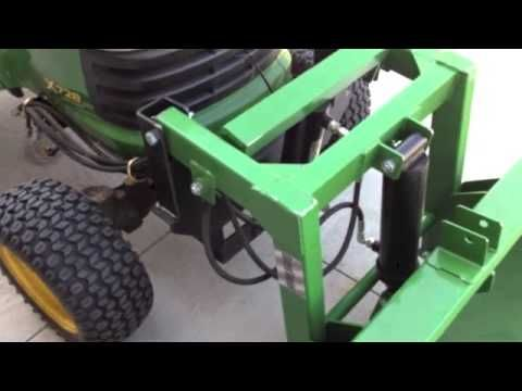 Sleeve Hitch Adapter For Your Garden Tractor Review And Why You Might Want One Youtube Garden Tractor Attachments Lawn Mower Repair Tractor Accessories