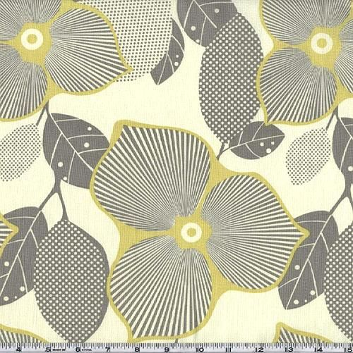 Amy Butler Midwest Modern Optic Blossom Linen; @Amie Lavoie-Moore, this is so pretty and only $8.98 p/yard