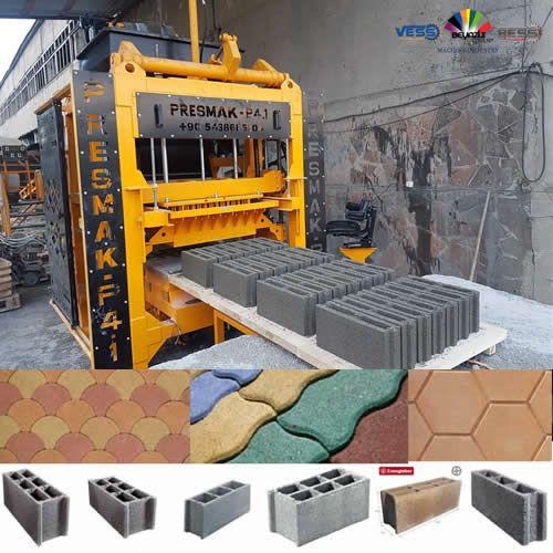 Machine De Fabrication D Hourdis Bloc De Beton Parpaing Brique