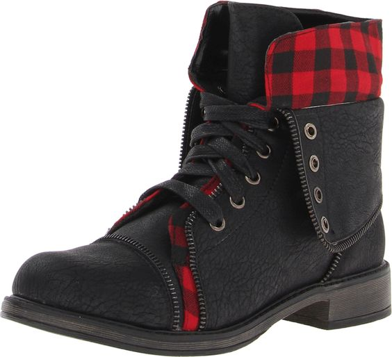 Skechers USA Women's Awol-Cute Combat Boot,Black/Red,6 M US Skechers  http://www.amazon.com/dp/B00BEEI5HQ/ref=cm_sw_r_pi_dp_Ijuvwb000H9RD