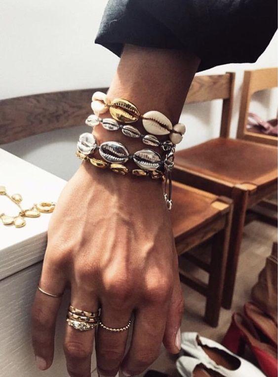 Shell Jewelry - Bracciali con conchiglie