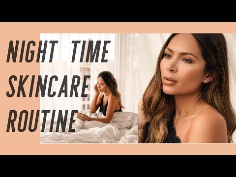 My Night Time Skincare Routine Youtube Skin Care Healthy Skin
