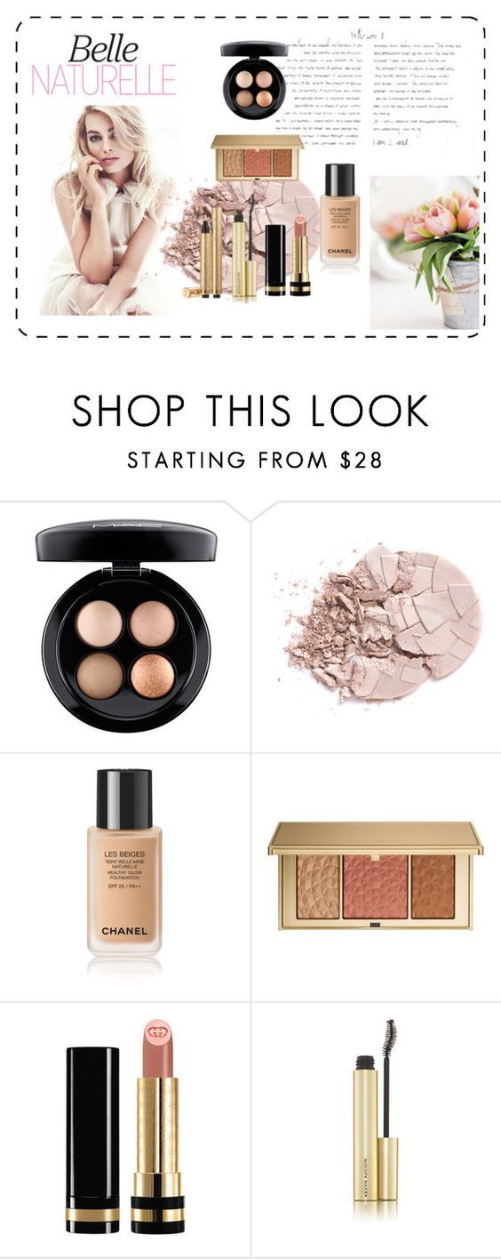"""""""Beauty"""" by rosannasilverio ❤ liked on Polyvore featuring beauty, MAC Cosmetics, Estée Lauder, Gucci, Kevyn Aucoin and Yves Saint Laurent"""