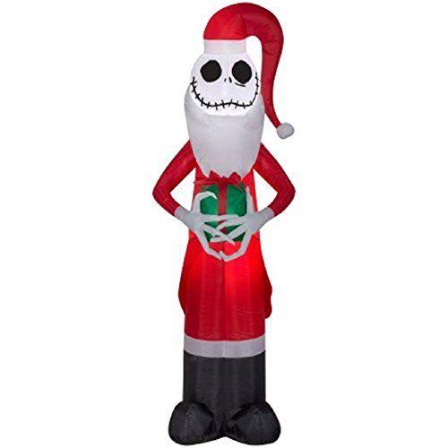 Christmas Disney Inflatable 5 5 Santa Jack Skellington The