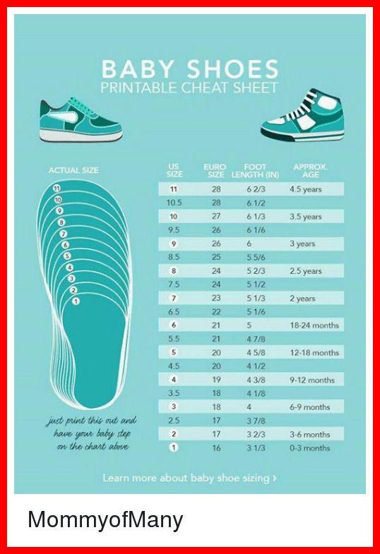 Us Shoe Size To China : china, Reference, Toddler, China, Chart,, Sizes,, Storage