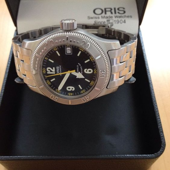 Oris Divers Watch With Date