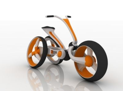 Futuristisch: Rabbit Concept Bike