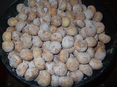 tarçınlı minik kurabiyeler
