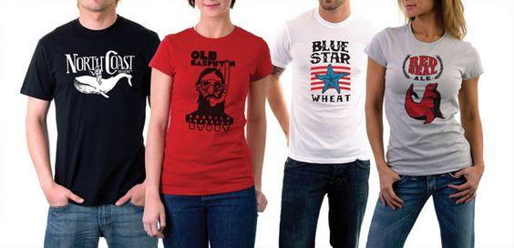 North Coast Brewing T-Shirts:  Tee Shirt,  T-Shirt