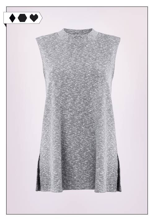 Jan n June Top SLORIS_Jan-n-June_Fair-Fashion-Rib-Top-grau-Grey-vegan-eco-social