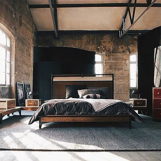 45 Modern Rustic Master Bedroom Decor And Design Idea