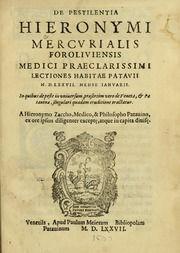 De peste in vniuersum praesertim verò de Veneta & Patauina mercuriale - Búsqueda de Google