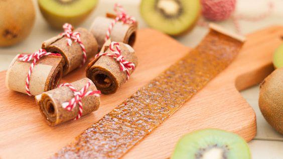 Kiwifruit roll ups