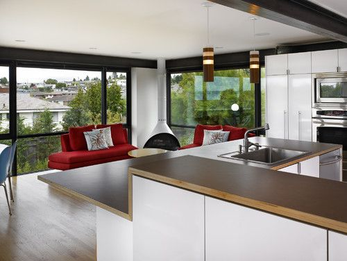Laminate Countertops With Exposed Plywood Edge | Home: Kitchen Ideas |  Pinterest | Plywood Edge, Laminate Countertops And Plywou2026