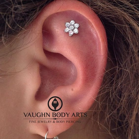 A lovely piercing from yesterday. This young lady...