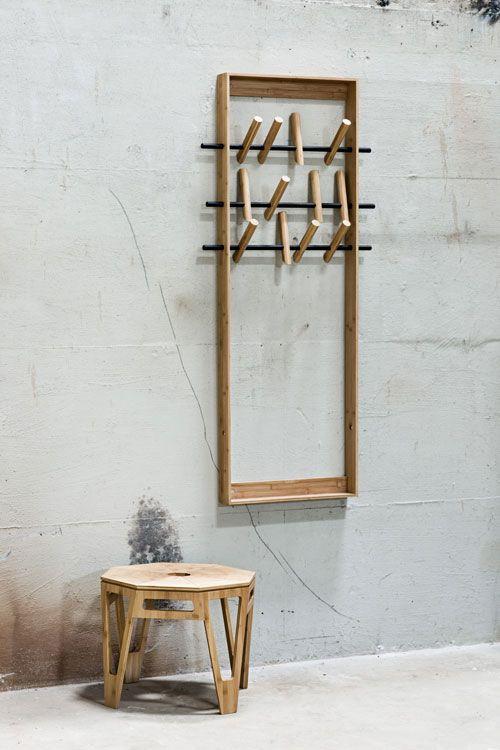 Genial Garderobe Designer Kleine Flure Beistelltisch Holz