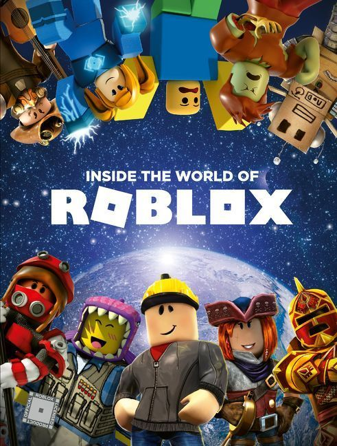 Inside The World Of Roblox Official Roblox Hardcover Roblox
